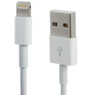 Originální Apple kabel na iPhone / iPad / iPod - Lightning - MD819ZM/A - 2m - bílý
