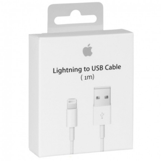 Originální Apple kabel v krabičce na iPhone / iPad / iPod - Lightning - MD818ZM/A - 1m
